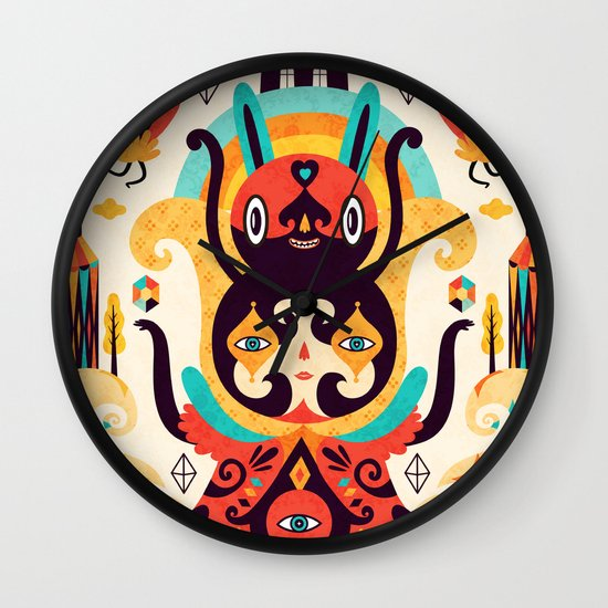 The Secret Key Wall Clock