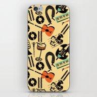 Jazz Rhythm (positive) iPhone & iPod Skin