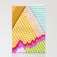 Isometric Harlequin #6 Stationery Cards