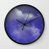 Grace Purple version Wall Clock