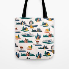 Let's stay here Tote Bag