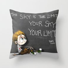 Your sky is your Limit Throw Pillow