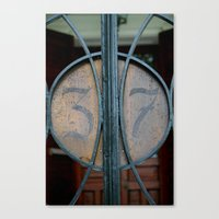 Number 37 Canvas Print