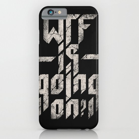 WTF is going on? iPhone & iPod Case