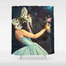 Butterflies, Part 2 Shower Curtain