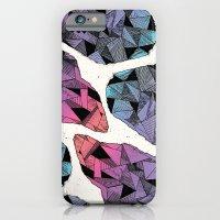 diamond iPhone & iPod Cases featuring Diamond by Hamburger Hands