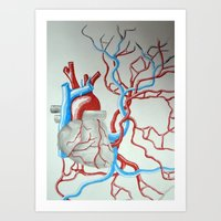 Da Heart Art Print