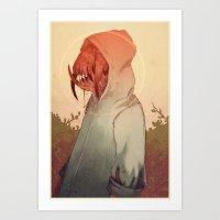 Creatures Art Print