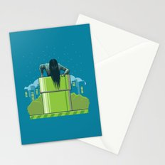 The wrong hole Stationery Cards