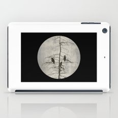 Full Moon and Crows iPad Case