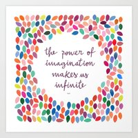 Imagination [Collaborati… Art Print