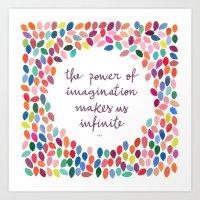 Imagination [Collaboration with Garima Dhawan] Art Print