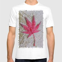 Wet Stars Mens Fitted Tee White SMALL