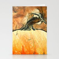 Last Autumn Sketches  Stationery Cards