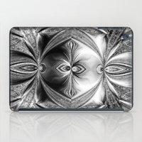 Abstract Peacock. Black+… iPad Case