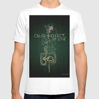 Cause And Effect, My Lov… Mens Fitted Tee White SMALL