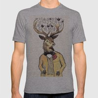 Stag Do Mens Fitted Tee Athletic Grey SMALL