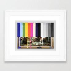 Garage Sale Painting Of … Framed Art Print
