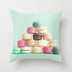 Soft Sweet Pyramid Throw Pillow