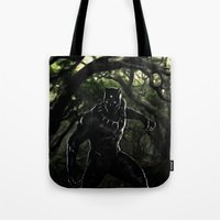 Big Cat On The Prowl Tote Bag