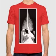 Apollonia Saintclair 528… Mens Fitted Tee Red SMALL