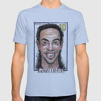 RONALDINHO Mens Fitted Tee Athletic Blue SMALL