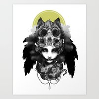 The Marquis Marchosias  Art Print