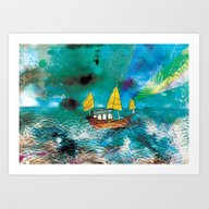 Come And Sail With Me Th… Art Print
