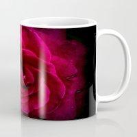 Texture Of A Rose Mug