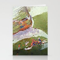 Auto Abstract Stationery Cards