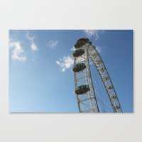 London Eye, London (2012) Canvas Print