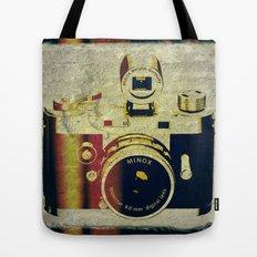 Minox camera Tote Bag