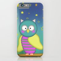 Good Night Little Owl iPhone 6 Slim Case