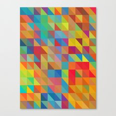 Color Chaoses Canvas Print