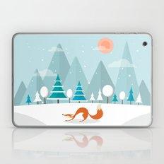The Fox Is Back Laptop & iPad Skin
