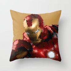 Iron Man MK VII Throw Pillow