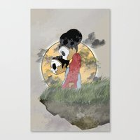 skull kids Canvas Print