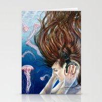 Deep Sounds Stationery Cards
