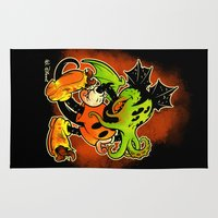 MICKTHULHU MOUSE (color) Rug