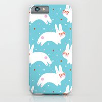 Happy Bunnies with Glasses iPhone 6 Slim Case