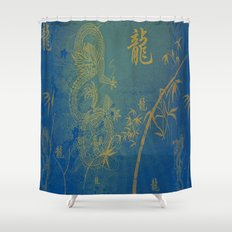 Legend Of The Dragon Shower Curtain