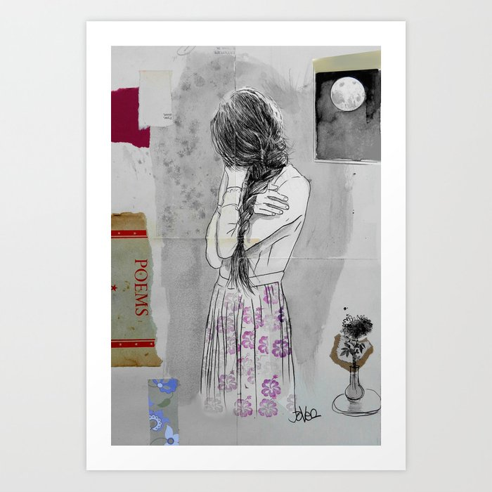 Sunday's Society6 | Mixed media art
