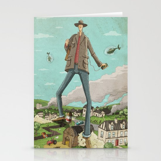 Tall Stationery Card