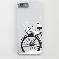 Bicycle & snow iPhone 6 Slim Case