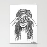 Beauty Is Within The Eye… Stationery Cards