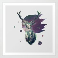 The Lord Between Worlds Art Print