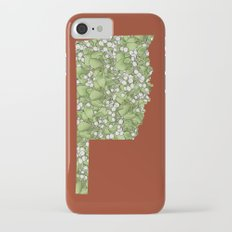 Oklahoma in Flowers Slim Case iPhone 7