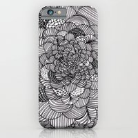 Ink Flowers iPhone 6 Slim Case
