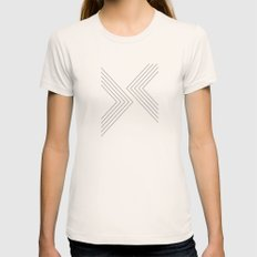 Point of View Womens Fitted Tee Natural SMALL