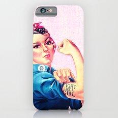 Fight Like A Girl Rosie … iPhone 6 Slim Case